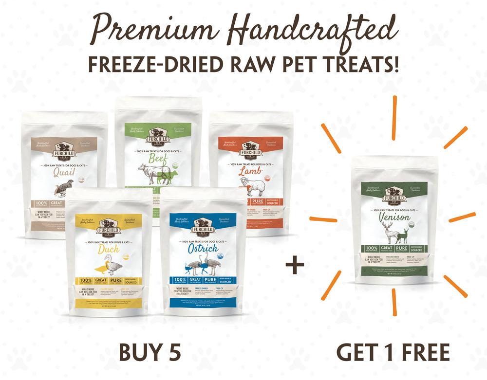Premium Handcrafted Freeze-Dried Raw Pet Treats