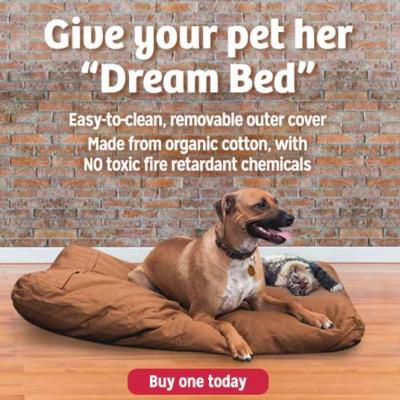 Dr. Mercola Organic Pet Bed Products and Knowledge