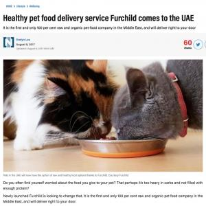 Healthy Pet Food Delivery Service Furchild comes to the UAE