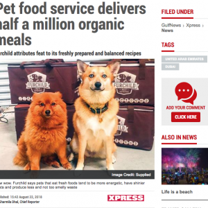 Pet Food Service Delivers Half a Million Organic Meals