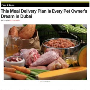 This Meal Delivery Plan Is Every Pet Owner's Dream in Dubai