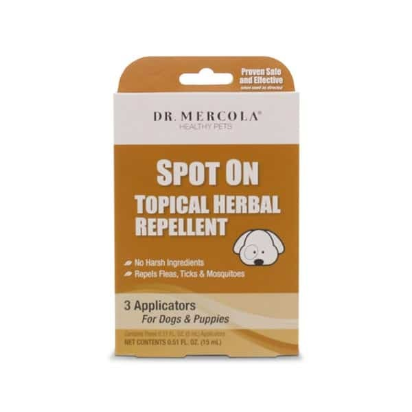 SPOT ON TOPICAL HERBAL REPELLENT - DOGS