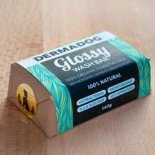 Organic Glossy Wash Bar