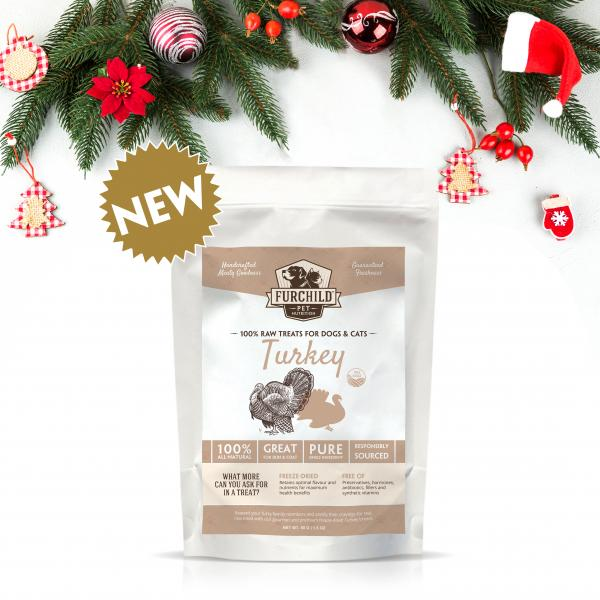 Premium Freeze-Dried Free-Range Turkey Breast Treats