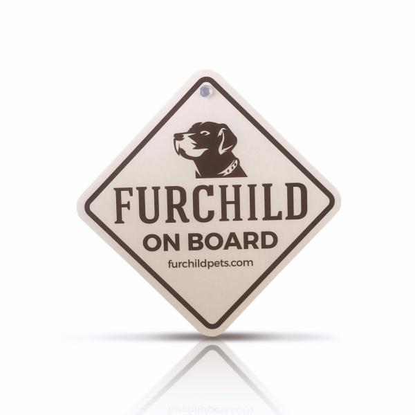 FURCHILD ON BOARD - CAR SIGN