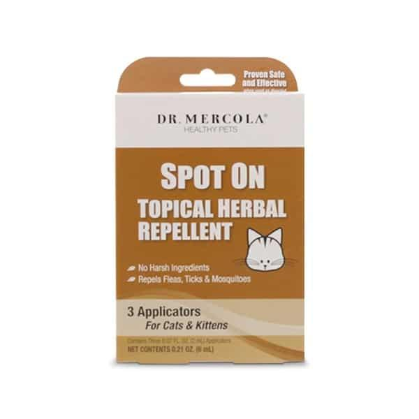 SPOT ON TOPICAL HERBAL REPELLENTS - CATS