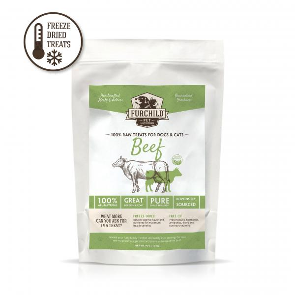 Premium Freeze-Dried Grass-Fed Beef Raw Pet Treats