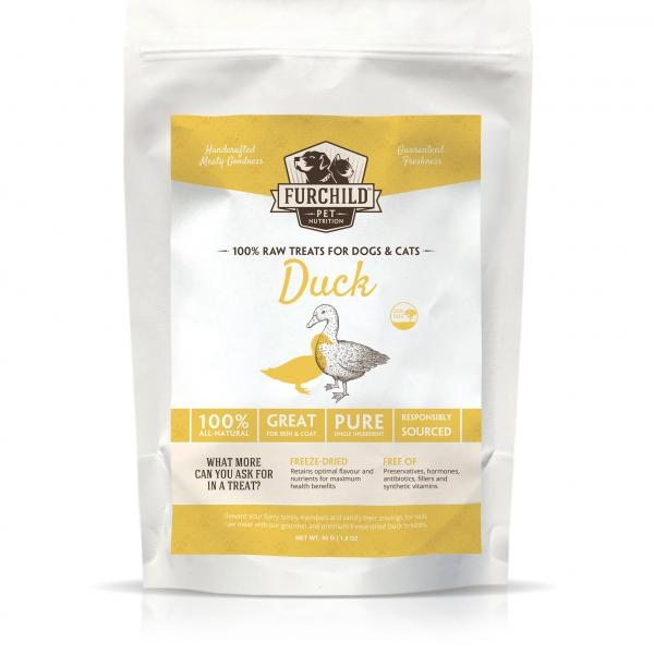Premium Freeze-Dried Pasture-Raised Duck Breast Treats