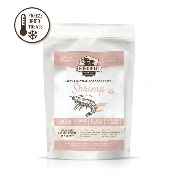 Premium Freeze-Dried Wild-Caught Shrimp Raw Pet Treats