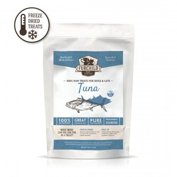 Premium Freeze-Dried Wild-Caught Tuna Raw Pet Treats