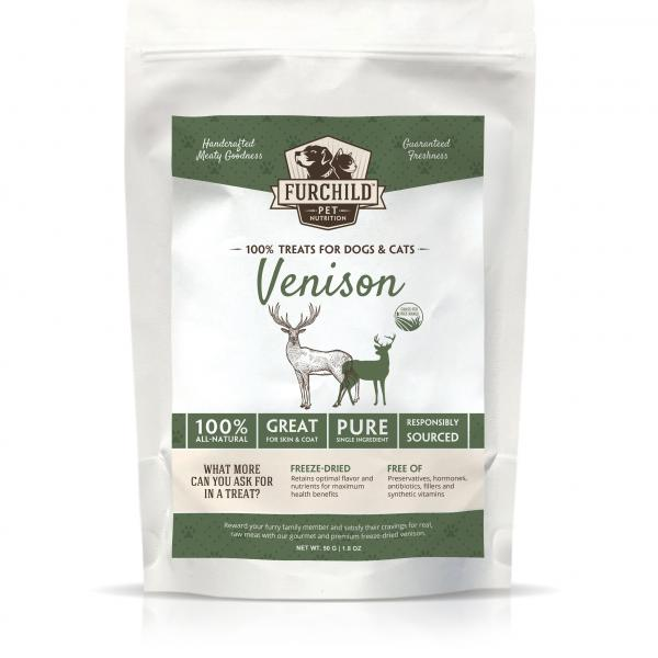 Premium Freeze-dried Free-range Venison Pet Treats