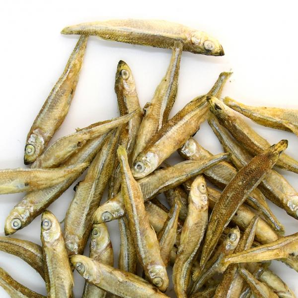 Premium Freeze-dried Wild-caught Minnows Treats