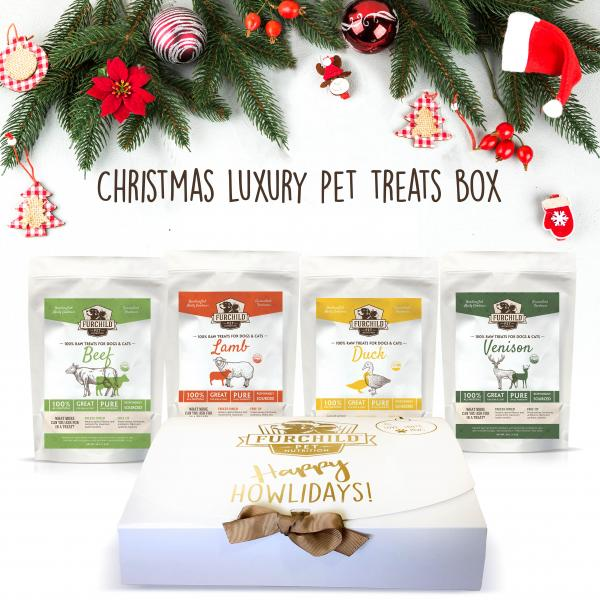 Luxury Christmas Pet Treat Box